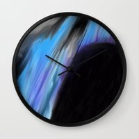 manhattan Wall Clocks featuring Manhattan  by RDsix3