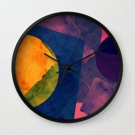 Abstrato Aquarela 001 Wall Clock