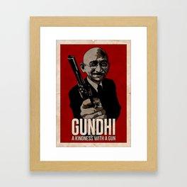 GUNdhi Framed Art Print
