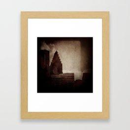 A City with No Name Framed Art Print