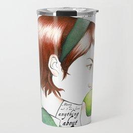 Jo March - Little Women Travel Mug
