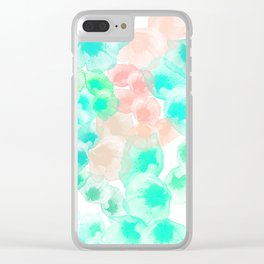 Flower carpet (68) Clear iPhone Case
