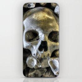 Bone Head iPhone Skin
