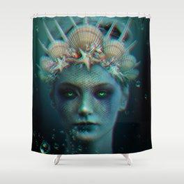 The Siren Shower Curtain