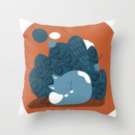Meow Meow Throw Pillow
