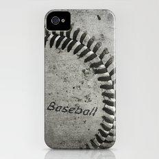 Baseball iPhone (4, 4s) Slim Case