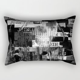 Glitch Out Rectangular Pillow