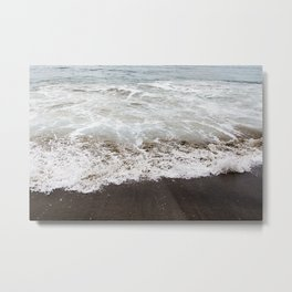 Brown Beach Metal Print