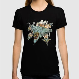 Tyrannosquadron Rex... IN SPAAACE! T-shirt