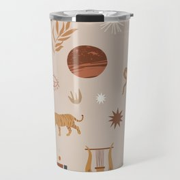 Composition of pretty Doodles #shapeart #digitalart Travel Mug