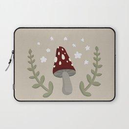 Mushroom Illustration Laptop Sleeve