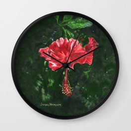 Flamenco by Teresa Thompson Wall Clock