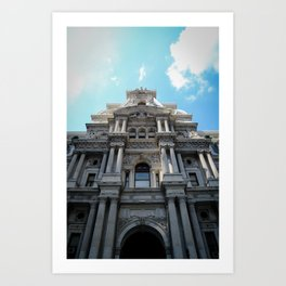 Town Hall - Philadelphia Art Print