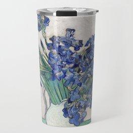 Van Gogh, Irises, 1888 Travel Mug