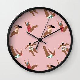 Make it rain girl make it rain Wall Clock