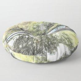 Little Venice London Art Floor Pillow