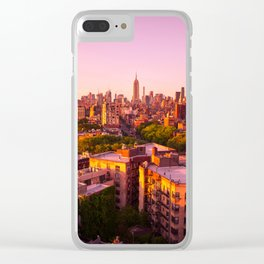 New York, I Love You (West Village Edition) Clear iPhone Case