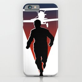North By Northwest: Alfred Hitchcock + Cary Grant + plane = film classic iPhone Case
