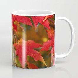 Fiery Autumn Maple Leaves 4966 Coffee Mug
