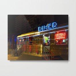 Diner Love Metal Print