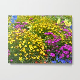 Yellow Flower takeover Metal Print