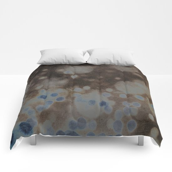 She Had Times When Her Soul Was Quiet and a Little Blue Comforters
