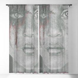Still Standing Sheer Curtain