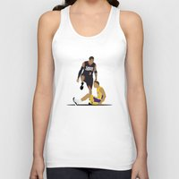 lakers Tank Tops featuring Step Over Lue by Steven Paris