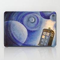 tardis iPad Cases featuring TARDIS by Colunga-Art