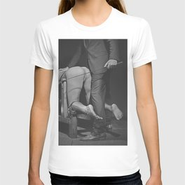 Waiting for the Whip 2# Nude woman whipped T-shirt