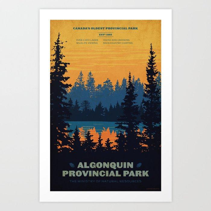 Algonquin Park Poster Kunstdrucke