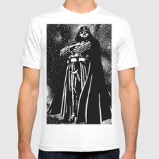 Vader Mens Fitted Tee MEDIUM White