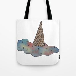 Aesthetic Tumblr Melted Icecream Tote Bag