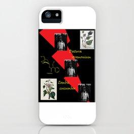 Zombii Cucumber Datura Stromonium iPhone Case