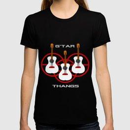 """G'tar Thangs"" design T-shirt"