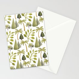 Watercolor Forrest Stationery Cards