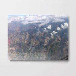 On Cloud 9 Metal Print