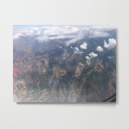 On Cloud 9 Metal Print