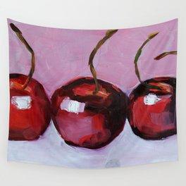 Cherries, cherry, fruit summer Wall Tapestry