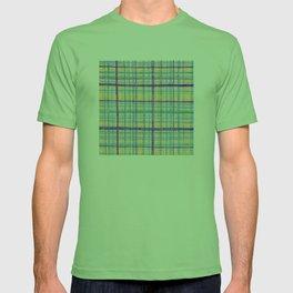 Plaid Pattern T-shirt