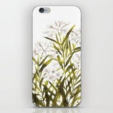 Oleander iPhone & iPod Skin