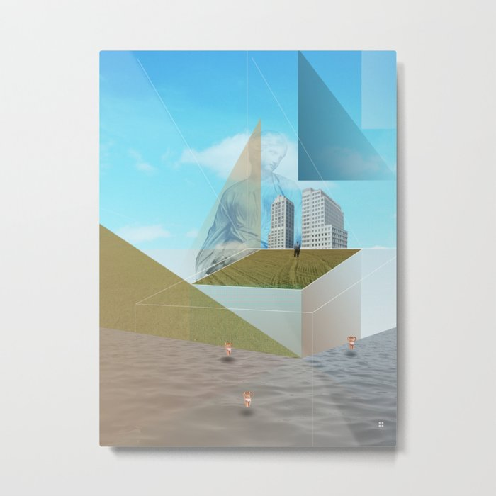 atmosphere 9 · Dreamland - Waiting for Rene Metal Print