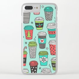Coffee Tumblr Clear iPhone Case