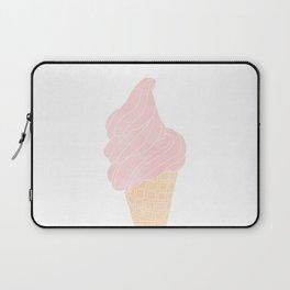 pink ice cream cone Laptop Sleeve