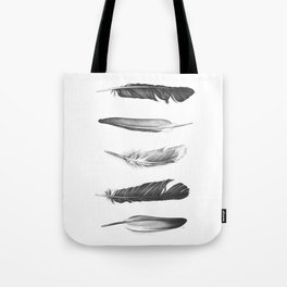 Five Feathers. Five Dreams. Tote Bag