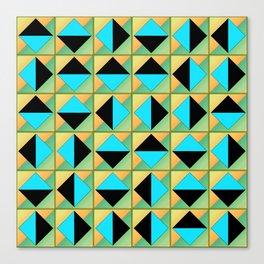 Algorithmic geometric art Canvas Print