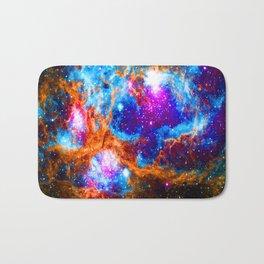 Cosmic Winter Wonderland Bath Mat