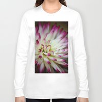 hayley williams Long Sleeve T-shirts featuring Hayley Jane Dahlia by The Lazy Beach