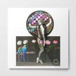 Hoop Elegance. Metal Print