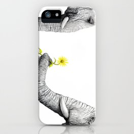 """Up Close You Are More Wrinkly Than I Remembered"" iPhone Case"
